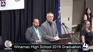 Winamac High School Graduation