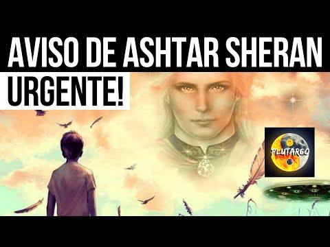 AVISO IMPORTANTE DE ASHTAR SHERAN