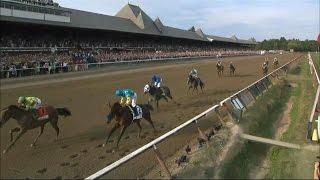 REPLAY: American Pharoah Upset by Keen Ice in 2015 Travers Stakes