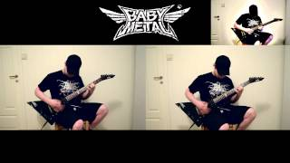 Babymetal - Road Of Resistance guitar cover (link to tabs)