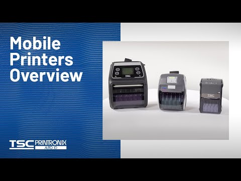 TSC Alpha-4L Mobile Barcode Printer