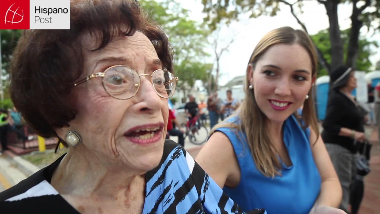 "Leonor Ferreira: ""Celebro que a mis 102 años, vi morir a Fidel"""
