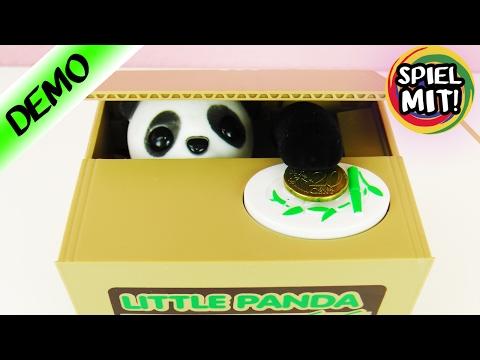 PANDA KLAUT UNSER GELD! lustige elektronische Spardose | PANDA SAVING BOX