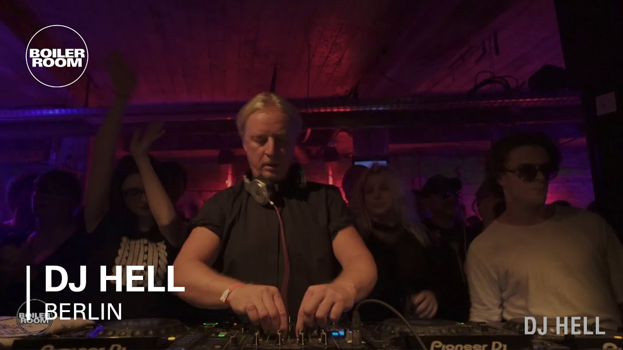 DJ Hell - Live @ Boiler Room Berlin 6th Birthday 2017