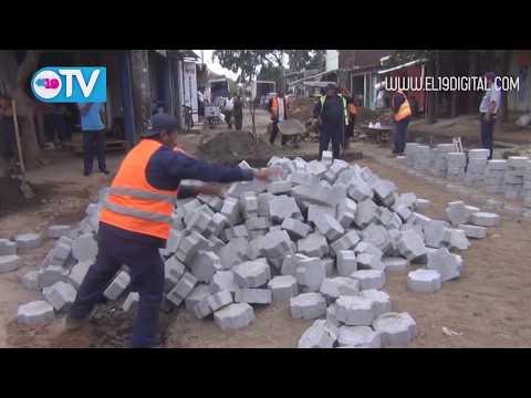 Mejoran circulación vehicular y peatonal en salida de terminal de buses de Masaya