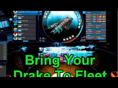 Bring Your Drake To Fleet Day - !giveaway - EVE Online Live
