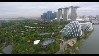 4K Singapore Marina Bay Sands DJI Phantom 4