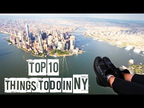ТОП 10 // ЧТО ДЕЛАТЬ В НЬЮ-ЙОРКЕ