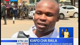 Maelfu ya mashabiki wajitokeza kwenye kiapo cha Raila Odinga