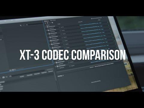 Fuji XT3: Comparing 10-bit to 8-bit Codecs – 4K Rumors