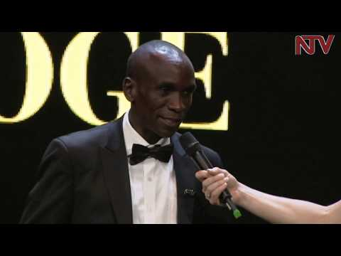 Marathon record holder Eliud Kipchoge named male athlete if the year