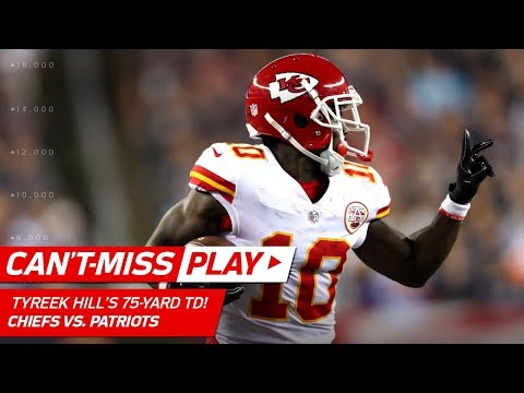 Tyreek Hill's Huge 75-Yard TD! ✌️ | Can't-Miss Play | NFL Week 1 Highlights