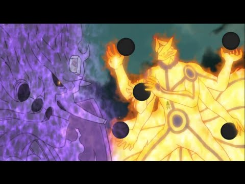 Naruto Shippuden Episode 468: Ashura vs Indra