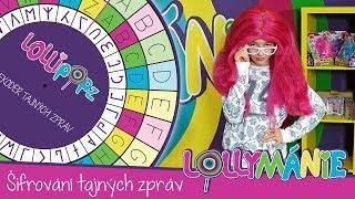 Lollymánie S01E12 - Šifrování tajných zpráv