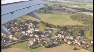 preview picture of video 'Boeing 757 landing at Luton airport England'
