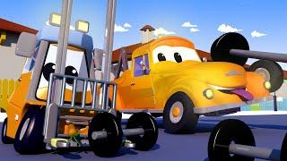 Odtahové auto pro děti - Malý Francis si pokřiví vidlici