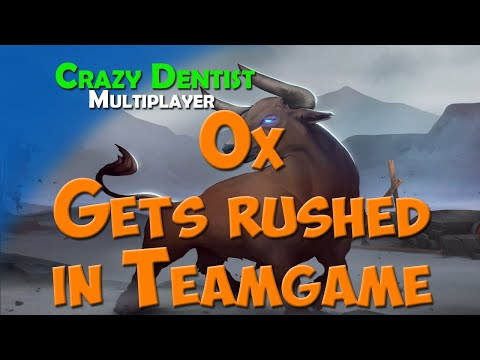 Ox Gets rushed in Teamgame | Ox clan in 3v3 | Northgard