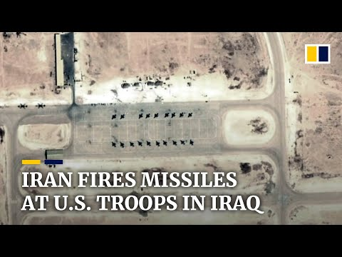 Iran fires missiles targeting US forces in Iraqi in revenge attack