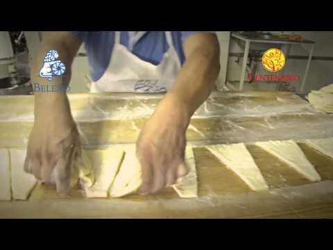 Como se hacen los tradicionales cuernitos o croissant.