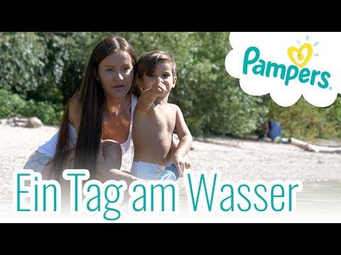 Ein Tag mit Freunden am Wasser - Pampers Splasher Schwimmwindel (P)