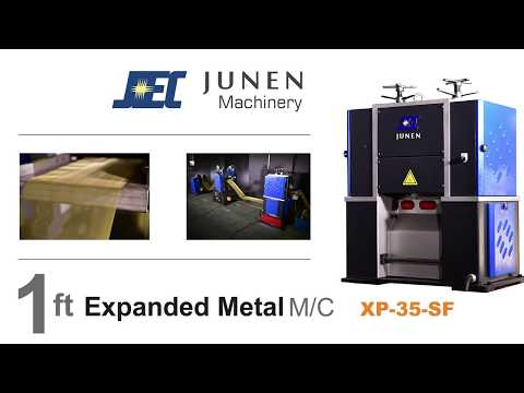 1 ft Expanded metal machine: XP-35-SF