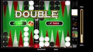 バックギャモンエースのプレイ動画-BackgammonAceplaymovie-