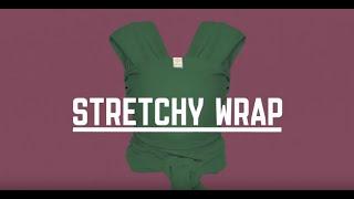 Bykay Stretchy Wrap sztrecs hordozókendő használati bemutató
