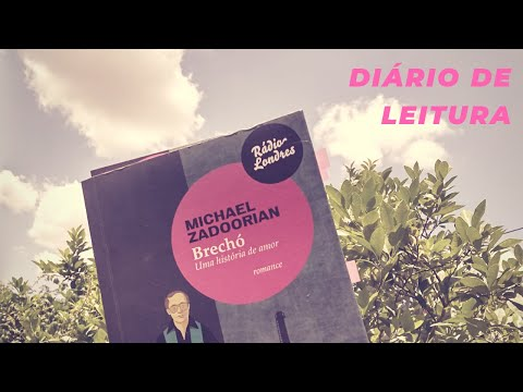 DIÁRIO DE LEITURA : Brechó - Michael Zadoorian