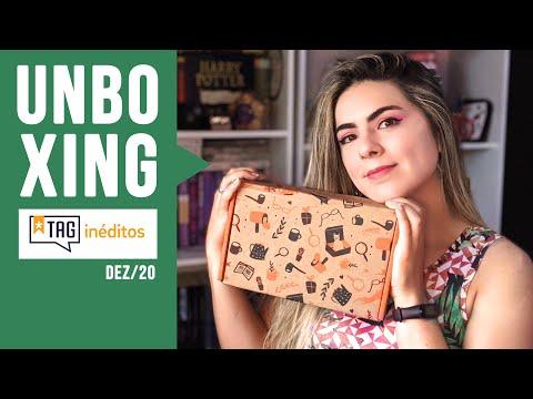 Unboxing TAG INÉDITOS | Edição DEZEMBRO 2020