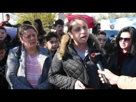 """Minik öğrenciden Cumhurbaşkanına mektup: """"Servis beklerken üşüyorum"""""""