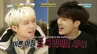 [ENG-SUB] 151224 MBC INFINITE Showtime Ep. 3 (Part 1 of 2)