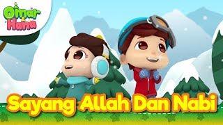 Gambar cover Lagu Kanak-Kanak Islam   Sayang Allah dan Nabi   Omar & Hana