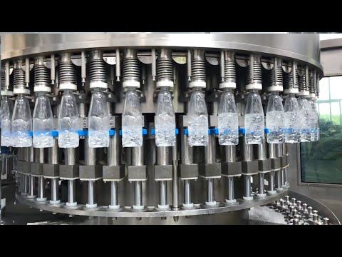 ASG 24000BPH blowing-filling-capping combiblock mineral
