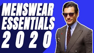 Menswear Essentials (11 Items Every Guy Needs In 2020)
