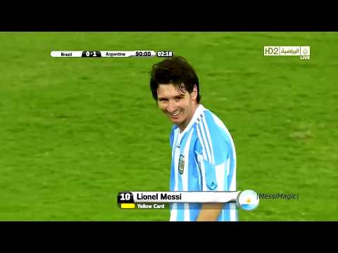 The Only One to Score 7 Goals vs Brazil  ► Lionel Messi Is The King of Superclasico