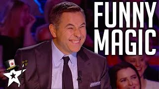 FUNNIEST Magicians EVER On Got Talent | Magicians Got Talent