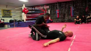 preview picture of video 'Krav Maga Taunton Escape from the Guard'