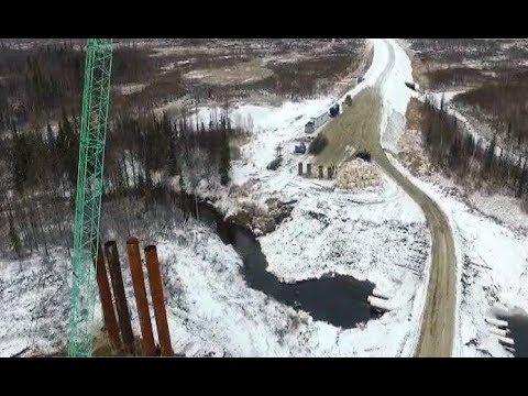 """Как продвигается строительство дороги """"Надым - Салехард"""""""