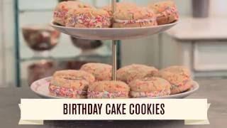Birthday Cake Cookies | The Hummingbird Bakery