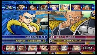 DRAGON BALL Z BUDOKAI TENKAICHI 3 VLF  |  GOTENKS SS6 & TRUNKS VS NAPPA & KOKUN