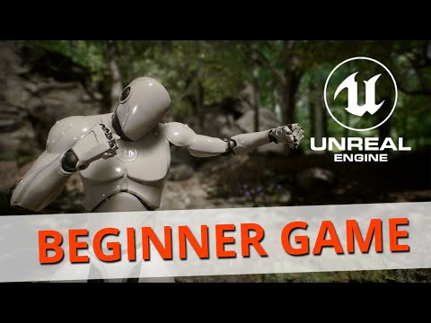 Unreal Engine Beginner Tutorial: Building Your First Game - YouTube