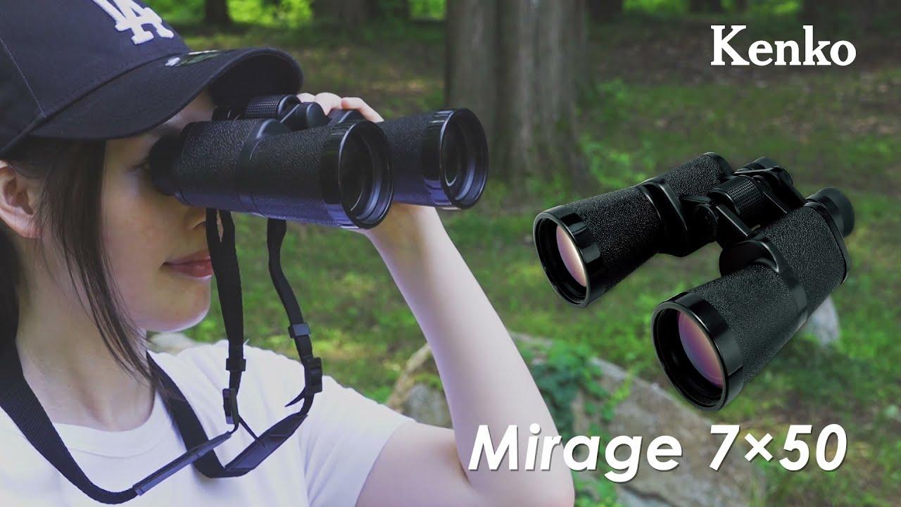 Видео о товаре Бинокль KENKO Mirage 7x50