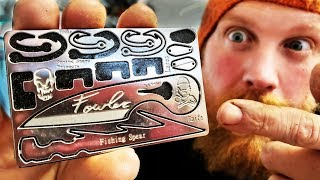 Signature Fowler Survival Card For Fishing And Trapping From Grim WorkShop