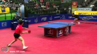 2011 Austrian Open (ms-f) MA Long - ZHANG Jike [Full Match|Short Form]