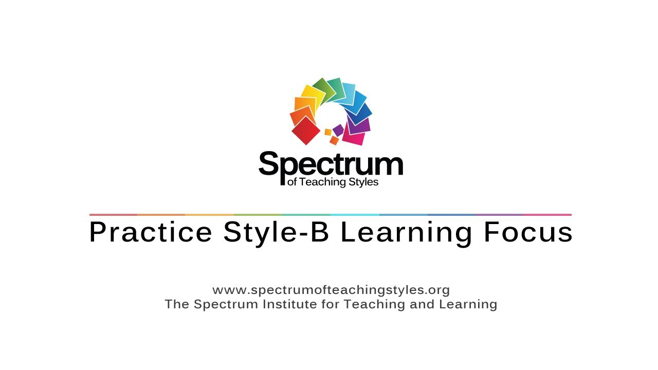 Practice Style-B Learning Focus's thumbnail