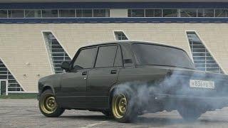 BLACK JACK #4. Drift on Russian Car / Дрифт на Жигулях