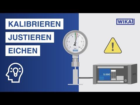 Messgeräte kalibrieren   Was ist der Unterschied zwischen Kalibrierung, Eichung und Justage?
