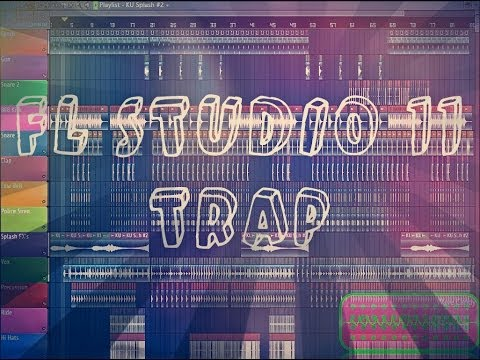 | FL STUDIO 11 Trap Mix | JONNY BLA5T - Bounce ( Original Mix )