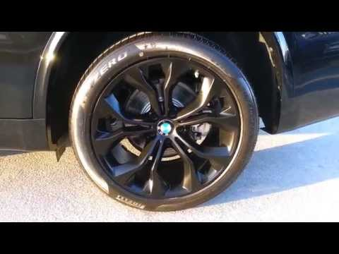 """NEW BMW X5 35I SDRIVE BLACK 20"""" WHEELS Walk Around  Car Review"""