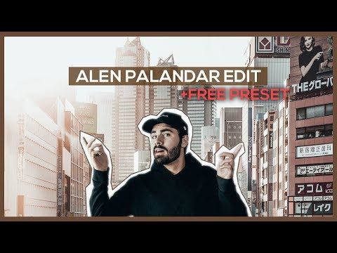 Import Alen Palander Preset to lightroom mobile FREE